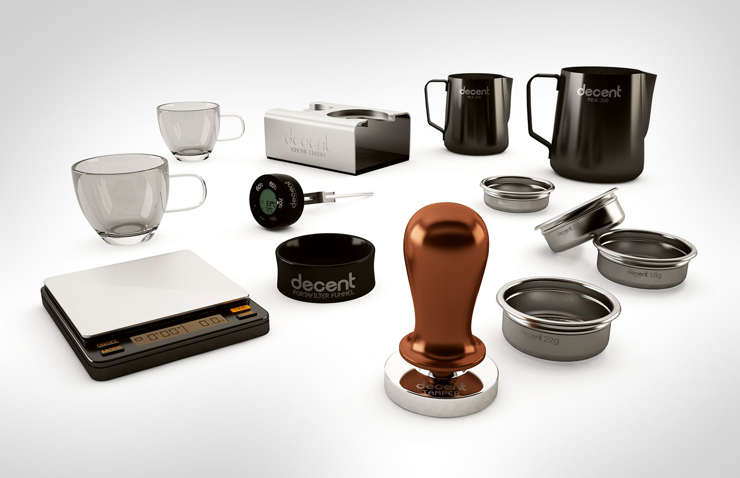 Barista Kit Without a Suitcase